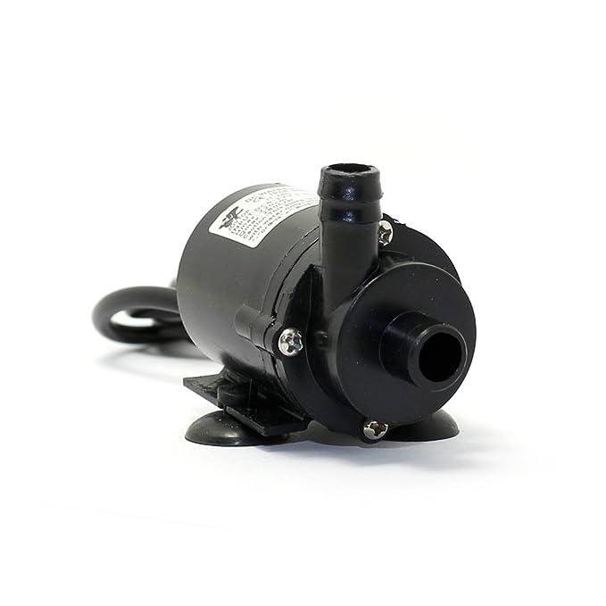 Q-BAIHE JT-160 - 12 Mini Bomba de Agua sin escobillas 6 V-12 V Bomba Sumergible Anfibio W/Cable: Amazon.es: Electrónica