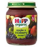 Hipp Organic Apple & Blueberry Dessert 4+ Months 125G
