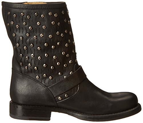 Stud Frye Black Women's Boot Short Cut Jenna aTqYtgrqP