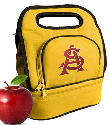 Bag Cooler Two Section ASU Sun Devils Lunchboxes (Devils Lunch Box)