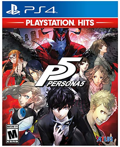 Persona 5  - PlayStation Hits - PlayStation 4 Standard Edition (Best New Rpg Ps4)