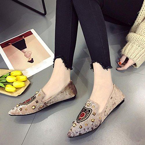 Cooljun Mode Frauen Valentine Schuhe Bronzing Pailletten Große Bowknot High Heels Sandalen Khaki