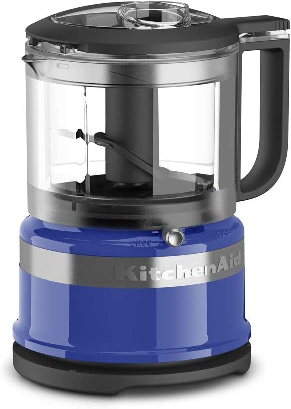 KitchenAid Refurbished 3.5-Cup Mini Food Processor | Twilight Blue