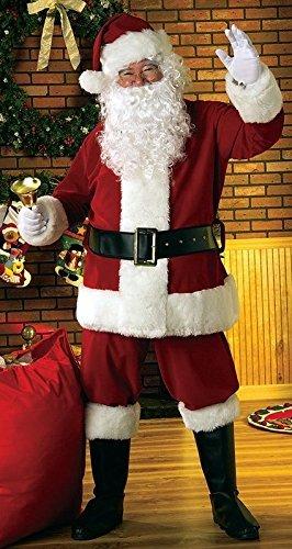 GoodsOnline24/7 Super Delux Christmas Santa Costume Complete Set for Santa Claus