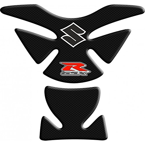 Tankpad Motorad Draht Muster Tankschutz  SUZUKI GSX-R 2009 2015 Effect Carbon-19x20 Polymer 3D
