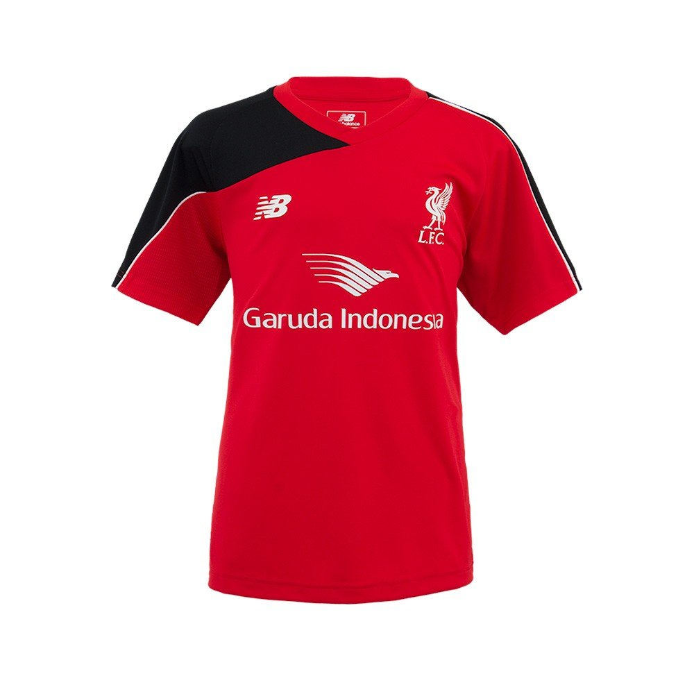 New Balance 2015–2016 Liverpool Training Shirt (rot) – Kids