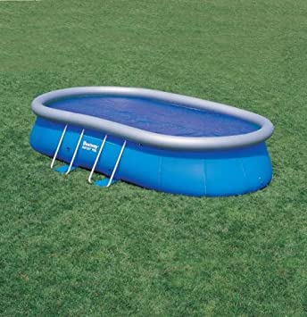 Bestway Solar Pool Plane (oval) für 549 x 366cm: Amazon.de: Garten