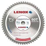 LENOX Tools Circular Saw Blade, Aluminum-Cutting, 7 1/4-inch, 60T (21882AL714060CT)