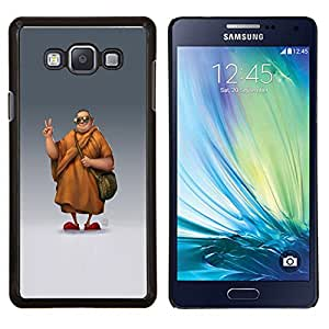 TECHCASE---Cubierta de la caja de protección para la piel dura ** Samsung Galaxy A7 ( A7000 ) ** --Chill Gafas de sol Monje