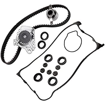 Amazon Com Timing Belt Valve Cover Gasket Water Pump Kit Fit 1 6l