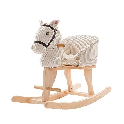 Cavallo Di Legno Giocattolo.Sdraiette E Dondolini Giocattolo Del Cavallo Di Legno Di Legno