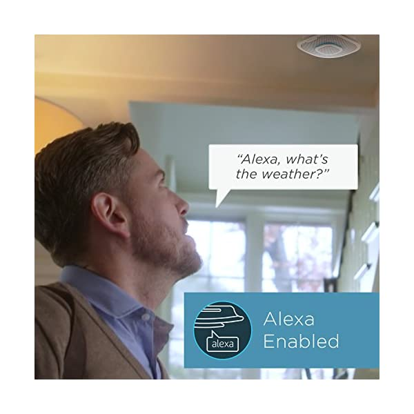 Alexa Enabled Smoke Detector and Carbon Monoxide Detector Alarm with Premium Home Speaker, Onelink Safe & Sound by First… 5
