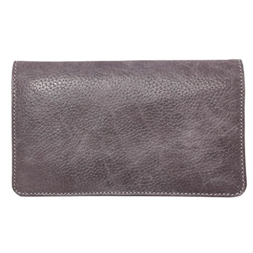 Latico Leathers Palmer Wallet Genuine Authentic Luxury Leather, Designer Made, Business Fashion and Casual Wear, Pebble Denim by Latico