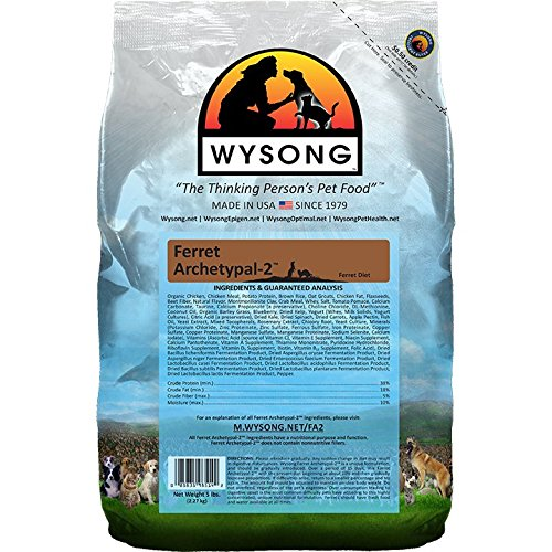 Wysong Ferret Archetypal-2 - Dry Ferret Food - 5 Pound Bag