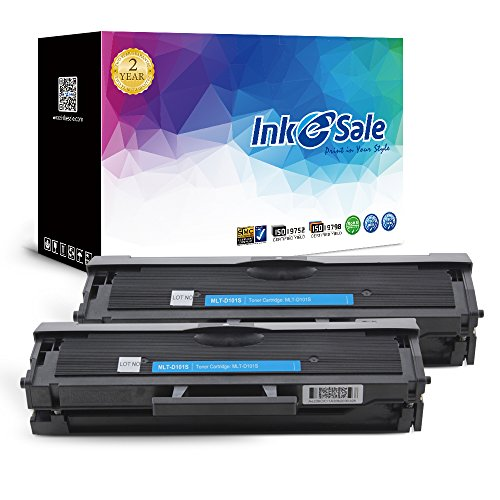 INK E-SALE 2-Pack Compatible Samsung 101 MLT-D101S Toner Cartridge Black for Samsung ML-2160 ML-2161 ML-2162 ML-2165 ML-2166 Samsung SCX-3400 SCX-3406W SCX-3406HW SCX-3401 SCX-3401FH Printer