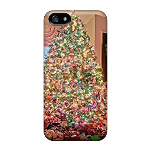 Awesome Design Family Christmas Tree Hard Case Cover For iphone 4s