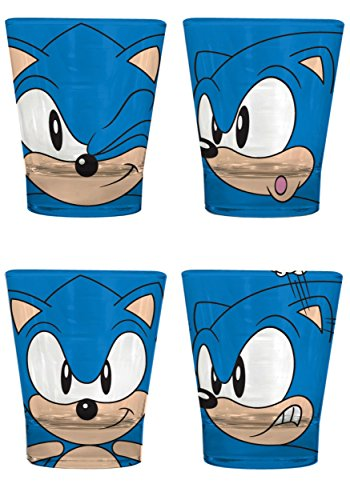 Cheap Sonic the Hedgehog Glassware Set Standard