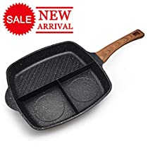 FRUITEAM Cookware Set Fry Pan Set