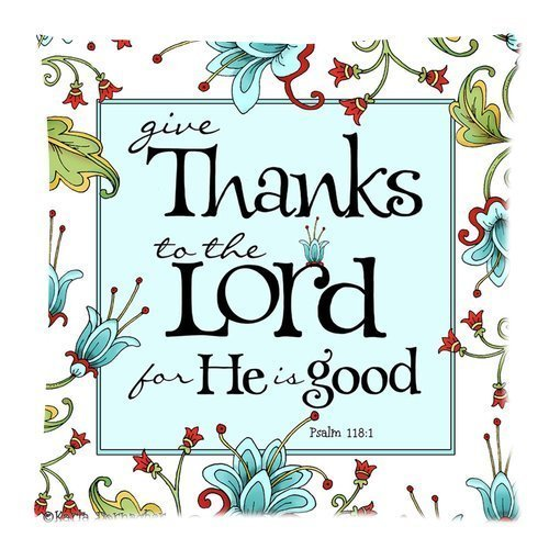 Bible Verse – Give Thanks To The Lord Comfortable Pillow Case 18×18 (Twin sides)