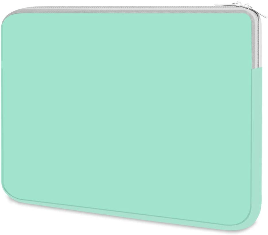 HESTECH Chromebook Case, 11.6-12.5 inch Neoprene Laptop Sleeve Case Bag Handle Compatible with Acer Chromebook r11/HP Stream/Samsung/Lenovo C330/ASUS C202/MacBook air 11/ Surface Pro3/Pro4, Mint Green