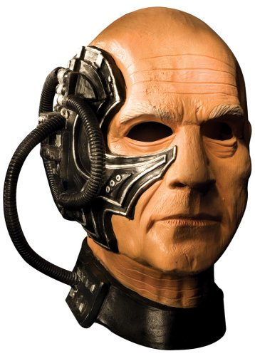 Star Trek The Next Generation Deluxe Adult Locutus Latex Mask