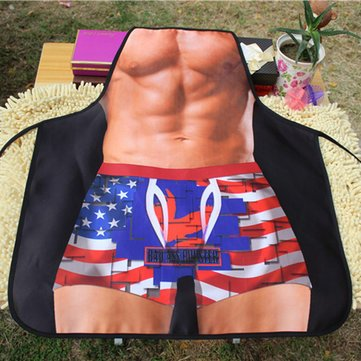 Mens Apron - Apron For Men - Funny Gifts For Men - Funny Aprons For Men - Creative Funny Muscle Male Apron Man Kitchen Grilling Apron For Boy Friend Gift (Halloween Themed Bar Names)