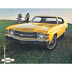 1971 Chevrolet Chevelle Full Line Sales Brochure