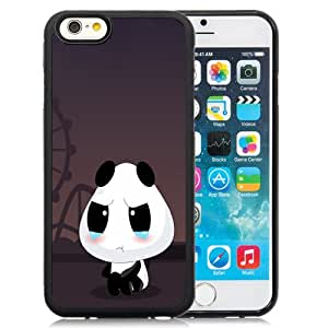 Fashionable Custom Designed Cover Case iPhone 6 4.7 Inch TPU With Crying Cartoon Panda Phone Case Cover