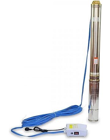 Bomba de Agua para Pozo 1500W Sumergible 158m de Profundidad 5,8m3/h 21