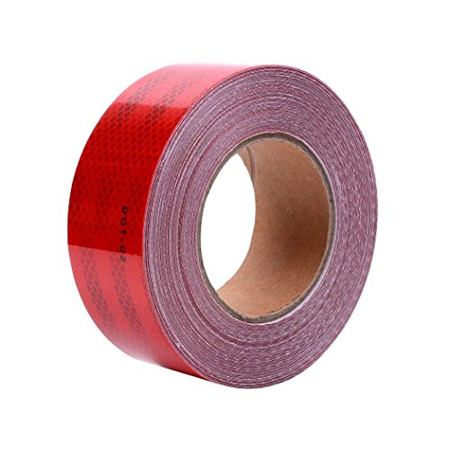 DOT-C2 Conspiciuity Reflective Tape (red,2in75ft Sizes)