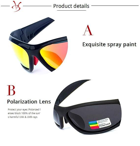 New Polarized Sports Sunglasses Eyewear for Cycling Riding Driving Fishing Golf1