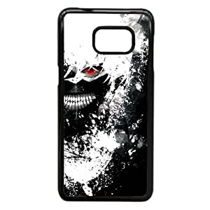 Tokio caso Ghoul Kaneki blanco de pelo J3L76R6KJ funda Samsung Galaxy S6 Edge Plus funda negro 138411