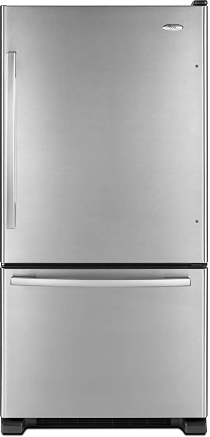 amazon com whirlpool gb2fhdxws gold 21 9 cu ft stainless steel rh amazon com Whirlpool Gold Conquest Refrigerator Whirlpool Gold Refrigerator User Manual