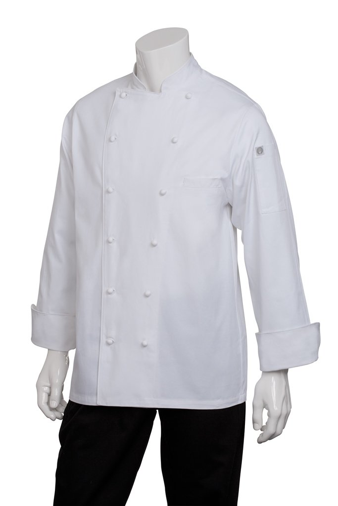 Chef Works Men's Henri Executive Chef Coat (CCHR) by Chef Works