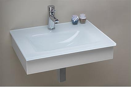 Arredo bagno mobile beta con lavabo in cristallo