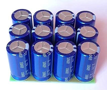 Amazon com: Super Capacitor Module Pack 33F 16V HIGH AMP