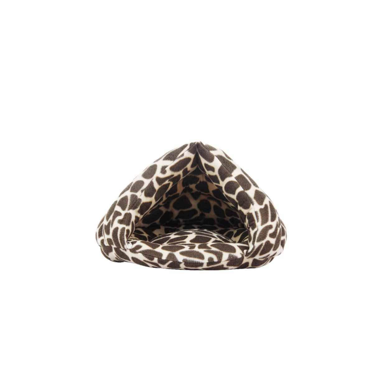 Cat Nest, Half Nest, Pet Kennel, Cat Sleeping Bag, Thick Cat House, Cat House, Cat House, Bichon Plus Philippe Cat, (color   Coffee Stone Pattern, Size   M)