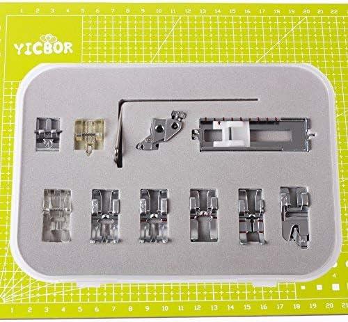 YICBOR 11pcs Snap On prensatelas Set para Pfaff Creative Quilt ...
