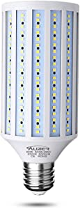 Clearance Sale 60W LED Corn Light Bulb, Large Mogul E39 Base, 6000-Lumen, 6500K Daylight Cool White,LED Corn Bulb for Large Area Garage Factory Warehouse Barn Shopping Mall Supermarket AC85V-265V