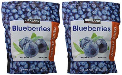 Kirkland Signature Whole Dried Blueberries: 2 Bags…
