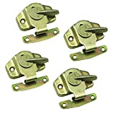 Exttlliy Iron Color-zinc Plating Training Table Locks Dining Table Lock Buckle Connectors Hardware Accessories (4Pcs)