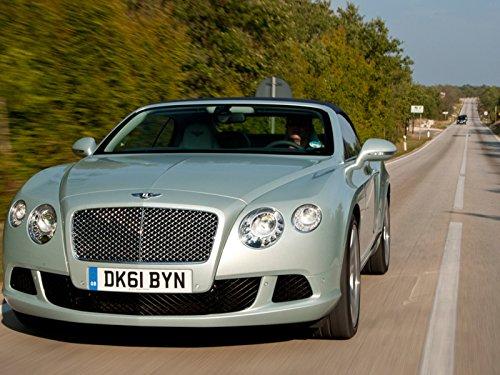 2012 Bentley Continental GTC Cruises Croatia