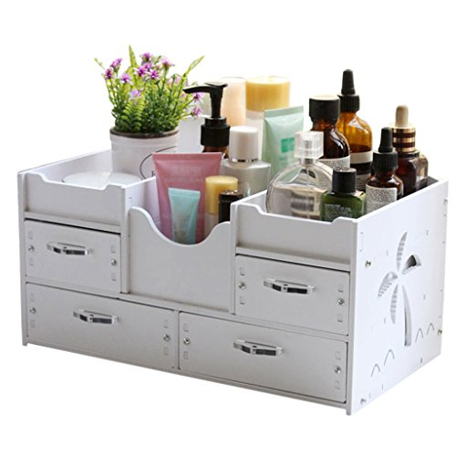 Li Jing Firm Cosmetic storage box drawer-type desktop storage box skin care product sorting box/jewelry jewelry box with drawers large storage space (Color : (Desktop Sorting Racks)