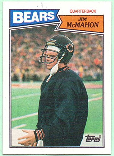 4e744839fbc Jim McMahon 1987 Topps #44 - Chicago Bears at Amazon's Sports Collectibles  Store
