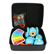 Co2Crea Hard Travel Case for Wonder Workshop Dash Robot + Dot Creativity Kit + Xylophone + Launcher by