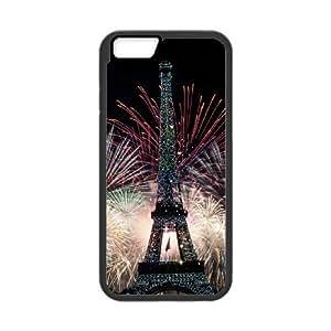 "[QiongMai Phone Case] For Apple Iphone 6,4.7"" screen Cases -Retro Eiffel Tower-IKAI0447670"