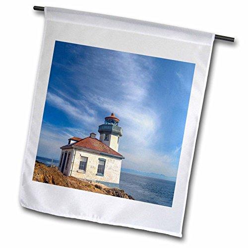 3dRose Danita Delimont - Lighthouses - Washington, San Juan Island, Lime Kiln Point Lighthouse. - 18 x 27 inch Garden Flag (Lime Kiln Lighthouse)