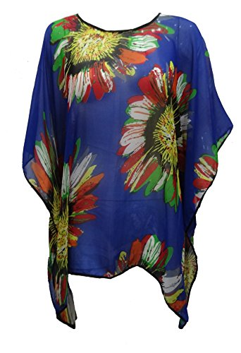Get The Trend - Camisola - para mujer Royal Sunflowers