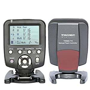 YONGNUO YN560-TX LCD Flash Trigger Remote Controller for Canon and YN560-III With Wake-up function for Canon cameras