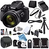 Nikon COOLPIX P900 16MP Digital Camera Bundle with Case and DigitalAndMore Accessory Bundle (17 Items)